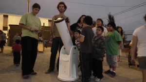 Budding astronomers