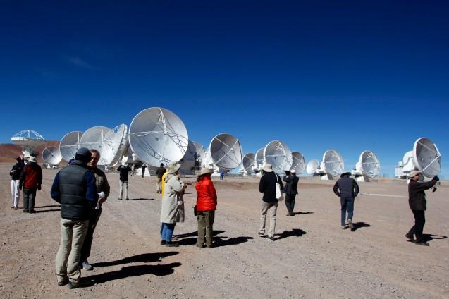 Las antenas de ALMA